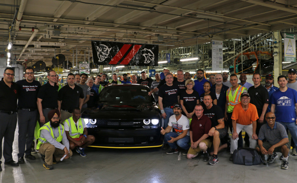 2018 Dodge Demon is done, final car thunders off the line