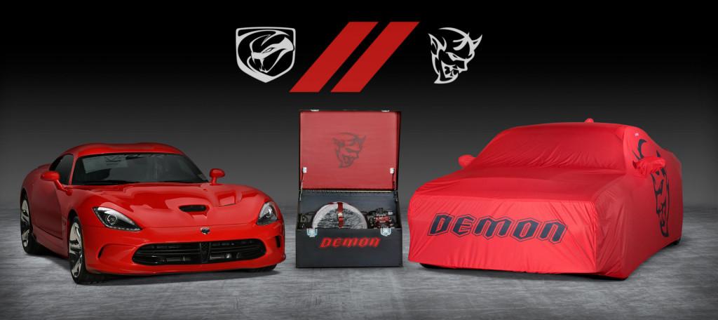 Final Dodge Viper and Challenger SRT Demon auction
