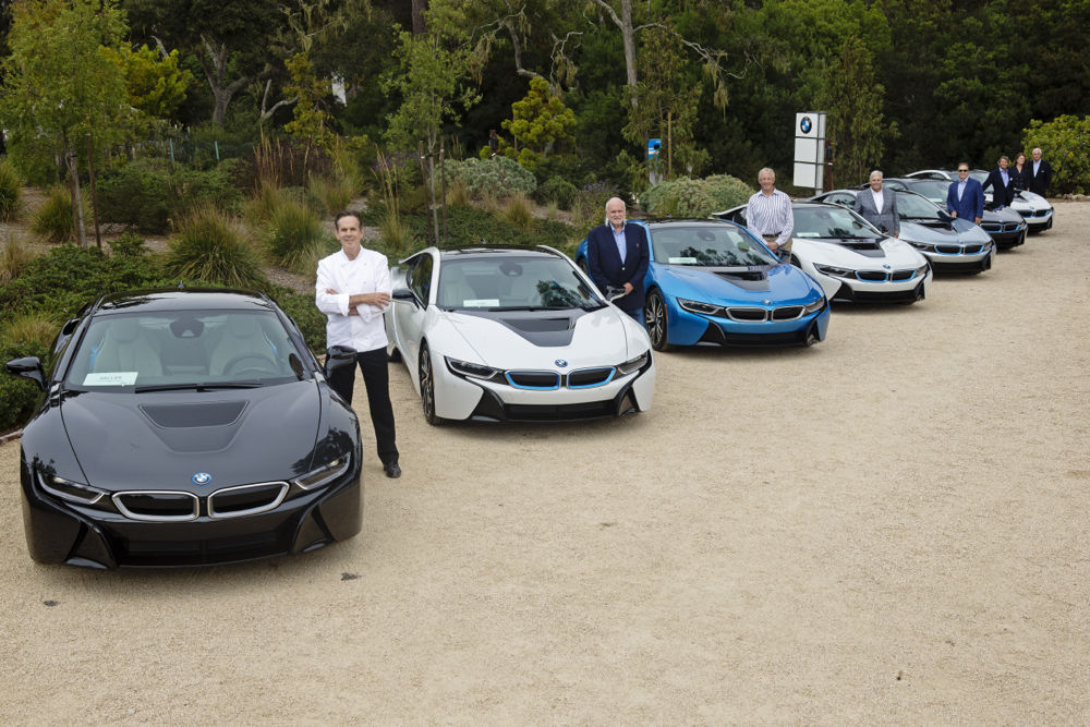 First Bmw I8 Plug In Hybrid Sport Coupes Delivered At Pebble Beach