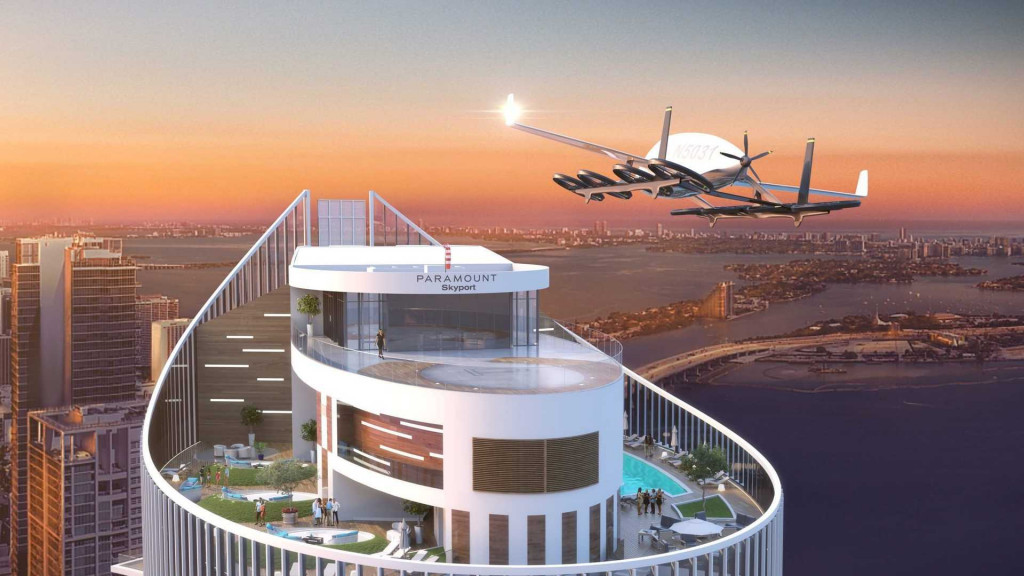Miami will soon be home to world's first flying car skyport