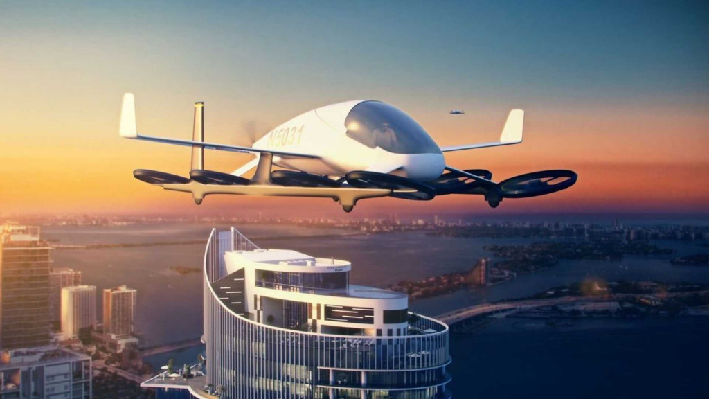 First flying car skyport in Miami, Florida