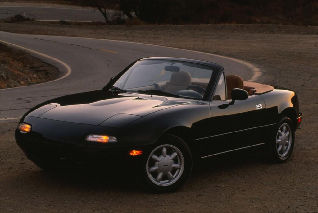 First-gen Mazda MX-5 Miata, launched in 1989