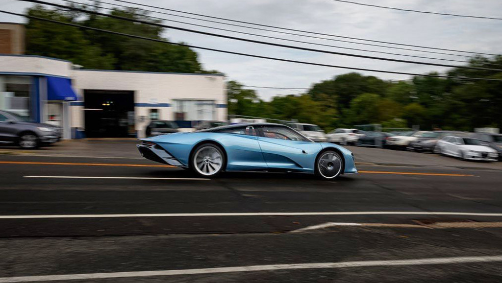 First McLaren Speedtail in United States - Photo credit: Miller Motorcars