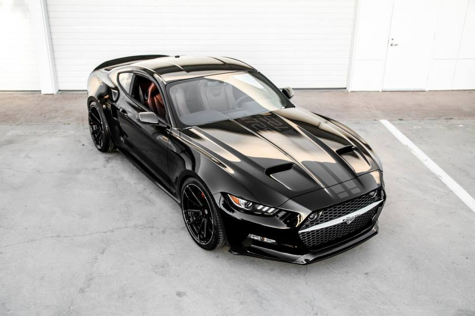 mustang based rocket super muscle car added  vlf lineup