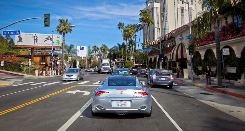 Fisker Karma in Los Angeles