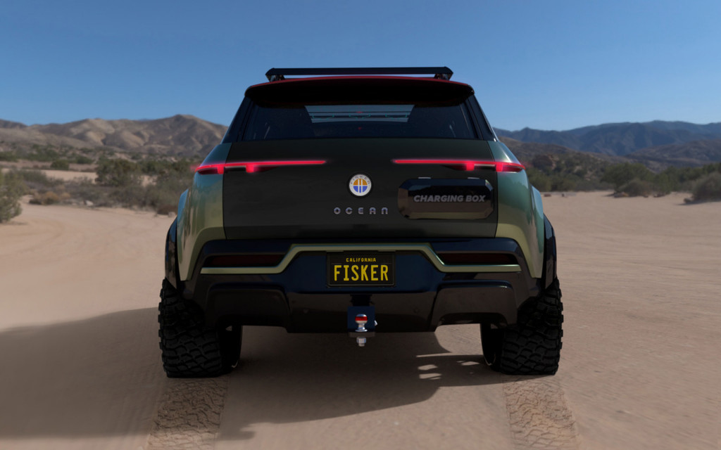 Fisker Ocean with Force-E off-road package