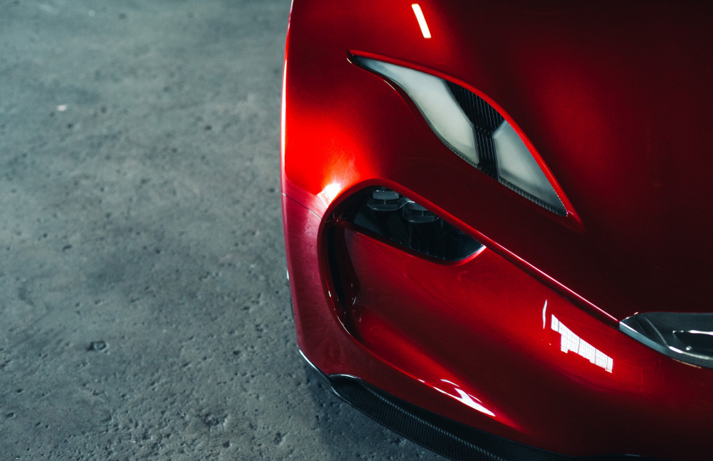 Fisker EMotion debuts at CES, promised for 2019 with 400-mile range
