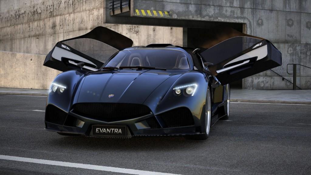 Italian Firm Fm Debuts Evantra Supercar