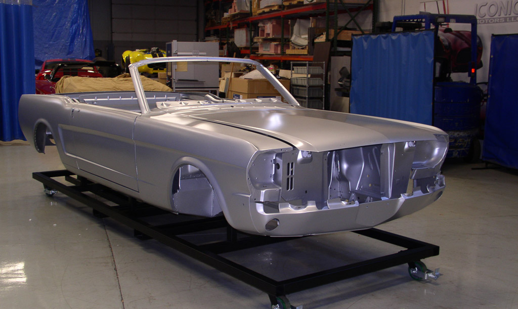 Build A Brand New 1965 Mustang Convertible With A Ford Approved Body Shell