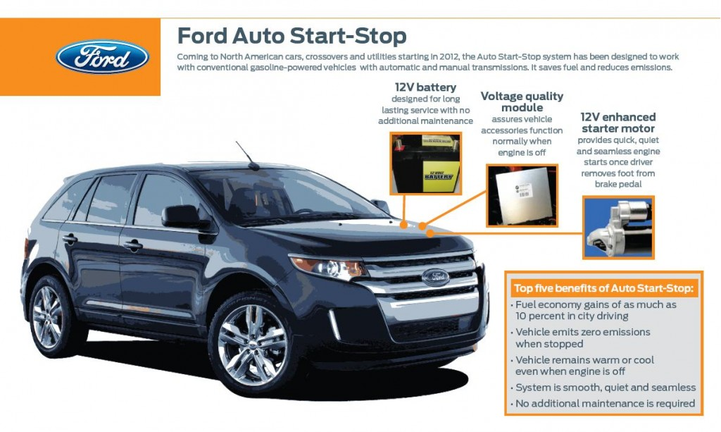 Ford Auto Start Stop Fact Sheet