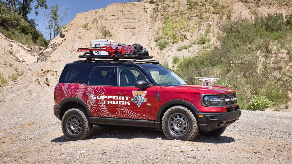 Ford Bronco Sport Off-Roadeo Adventure Patrol concept