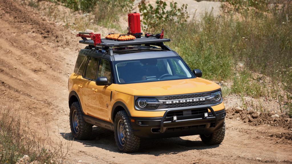 Ford Bronco Sport Trail Rig concept
