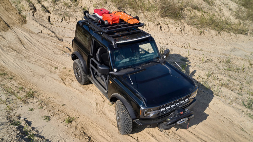 Ford Bronco Two-Door Trail Rig concept