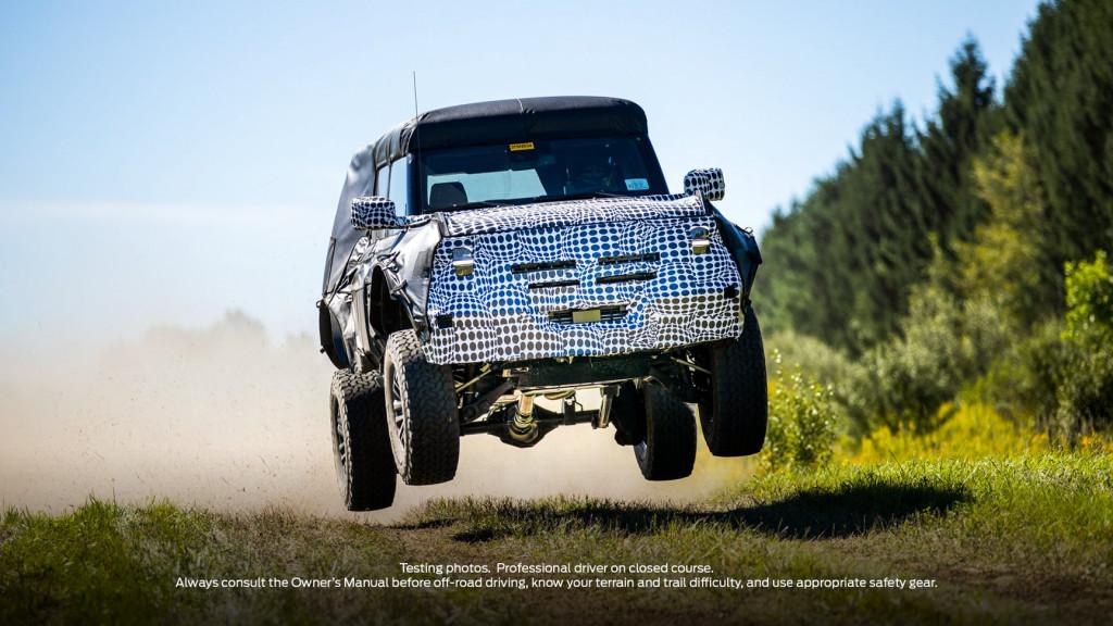 Ford Bronco Warhog/Raptor teased