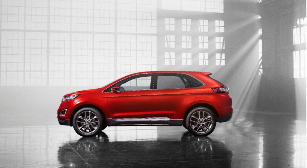 Ford Edge Concept, 2013 Los Angeles Auto Show