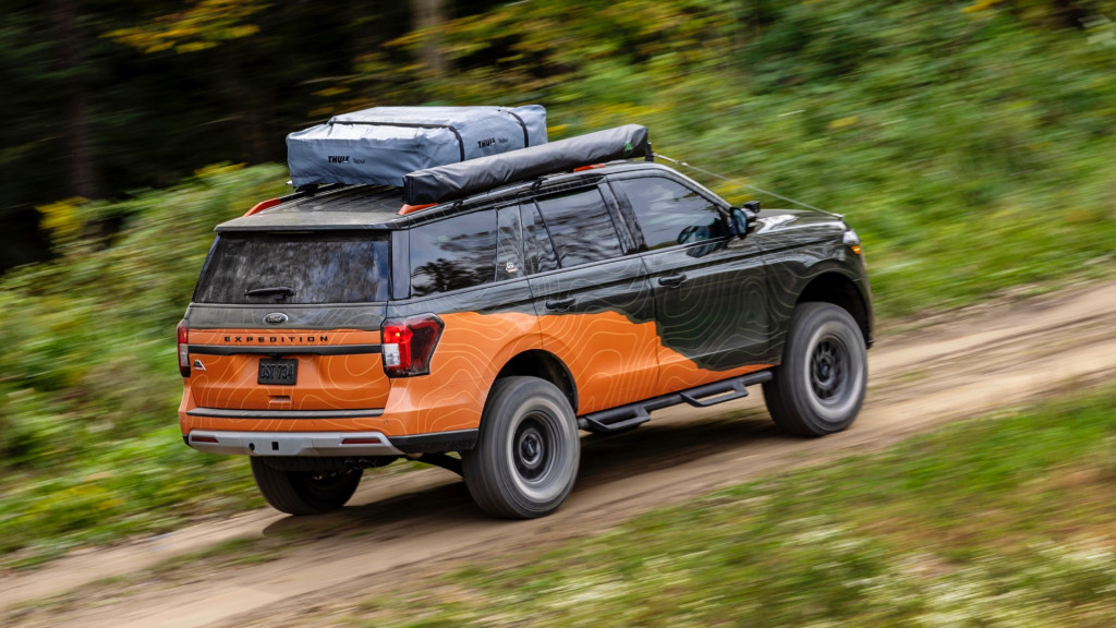 Концепт Ford Expedition Timberline Off-Grid