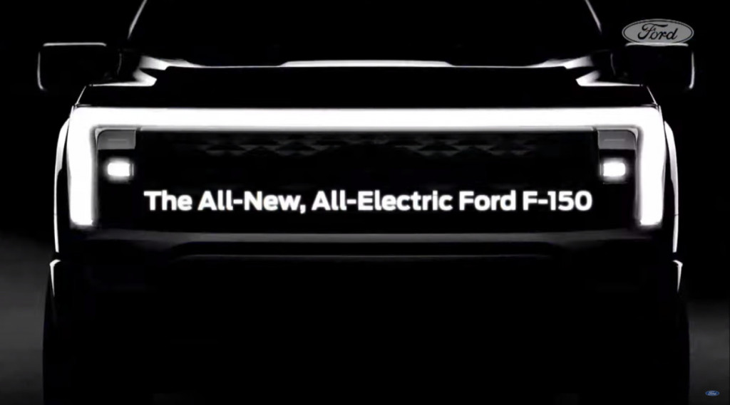 Ford F-150 electric teaser