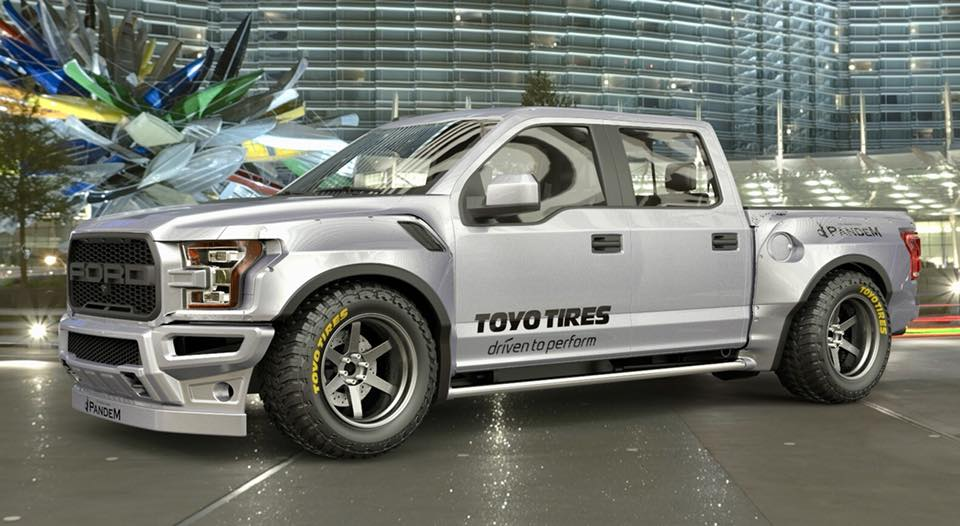A Wide Body Kit For The Ford F 150 Raptor Could Look Like This
