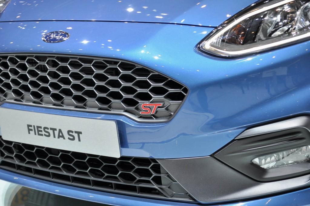 New Ford Fiesta ST, 2017 Geneva auto show