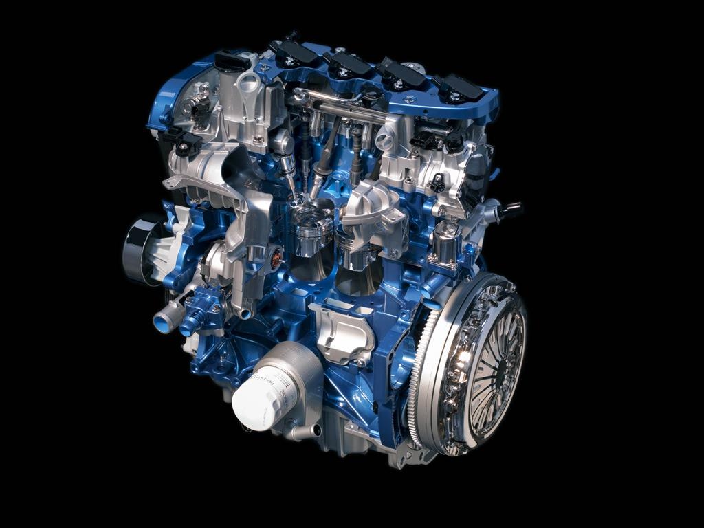Ford Four-Cylinder EcoBoost Engine