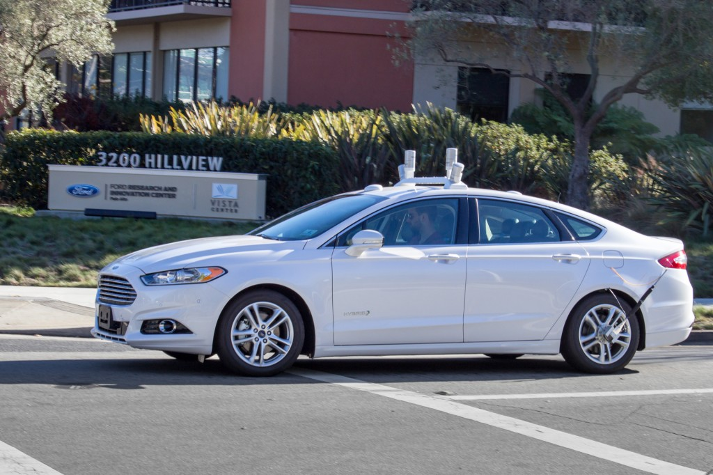 Ford becomes first automaker to test self-driving cars in Washington, D.C.