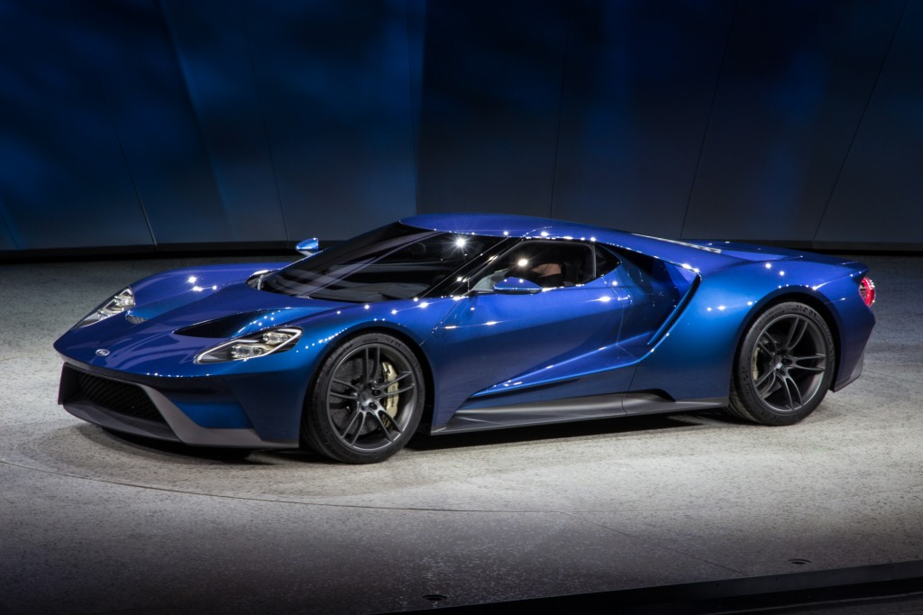 Image: New Ford GT, 2015 Detroit Auto Show, size: 1024 x 682, type ...