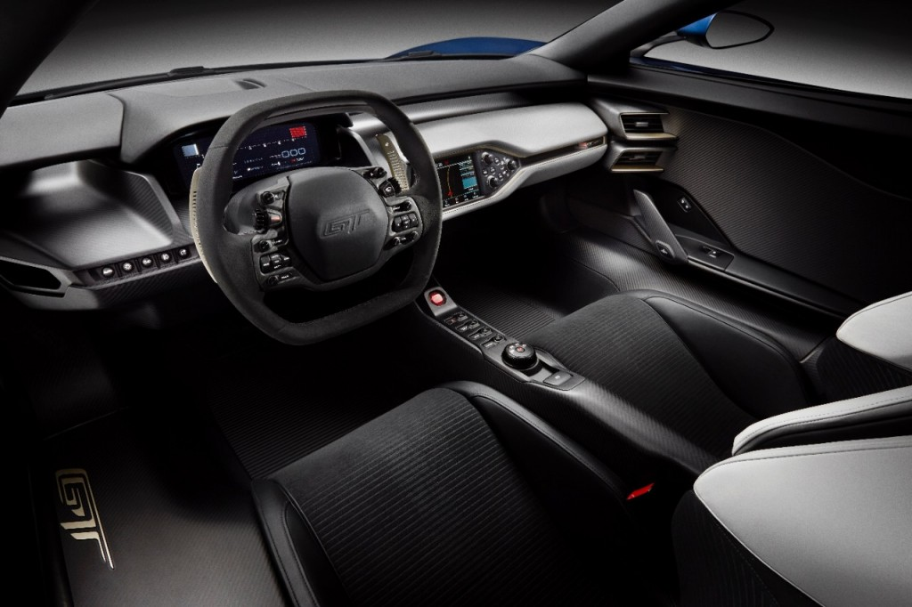2017 Ford Gt S Interior Is Just Like On Show Car
