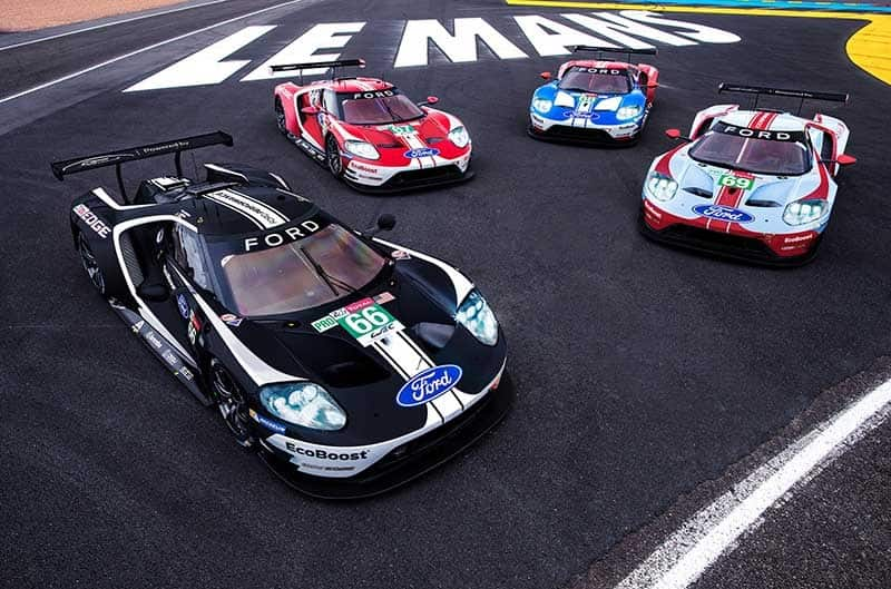 Ford GT 24 Hours of Le Mans livery, 2019