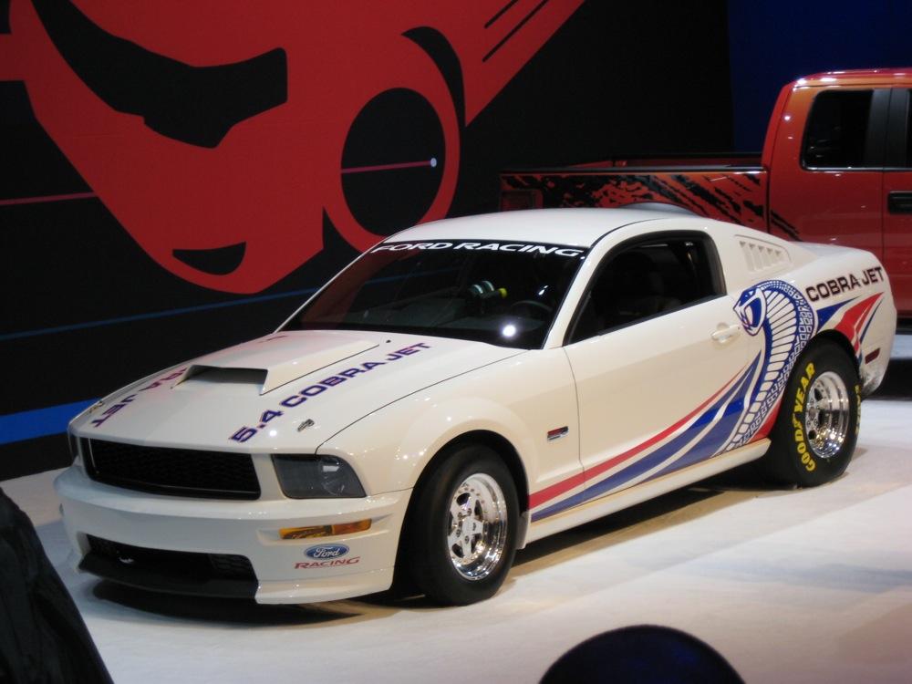 SEMA: Mustang Revives Cobra Jet