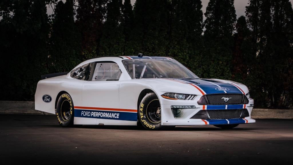 Ford Mustang NASCAR Xfinity Series race car