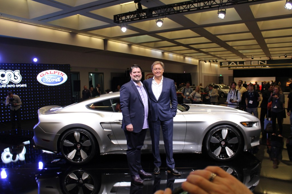 Galpin chief Beau Boeckmann (left) and Henrik Fisker