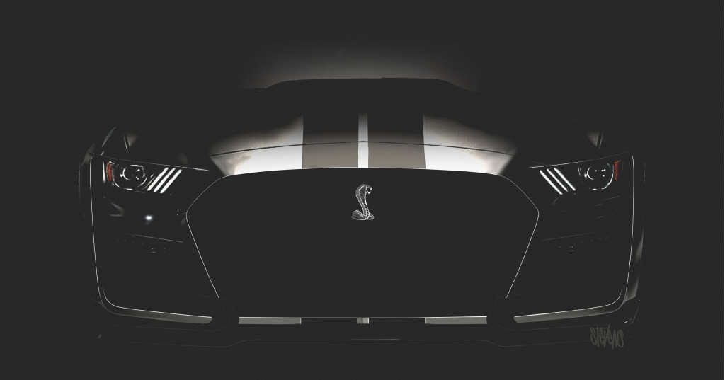Ford drops new photo of 2020 Mustang Shelby GT500