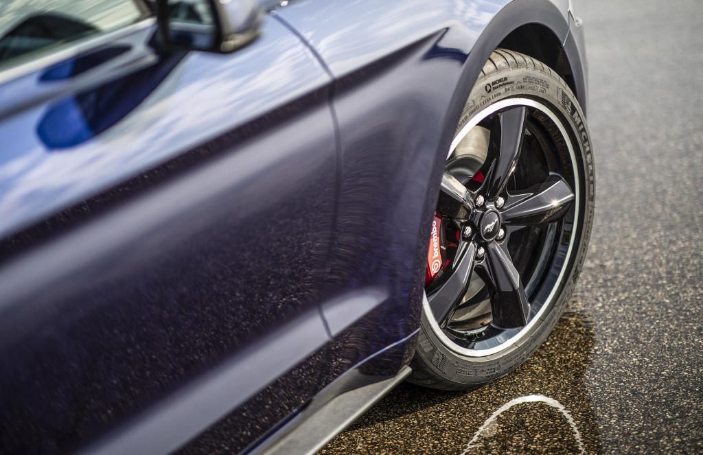 2019 Ford Mustang Bullitt finished in Kona Blue