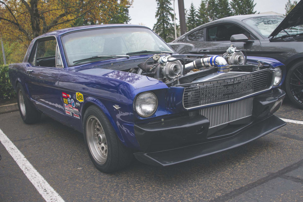 Trevor Simons' 1966 Ford Mustang twin-turbo build