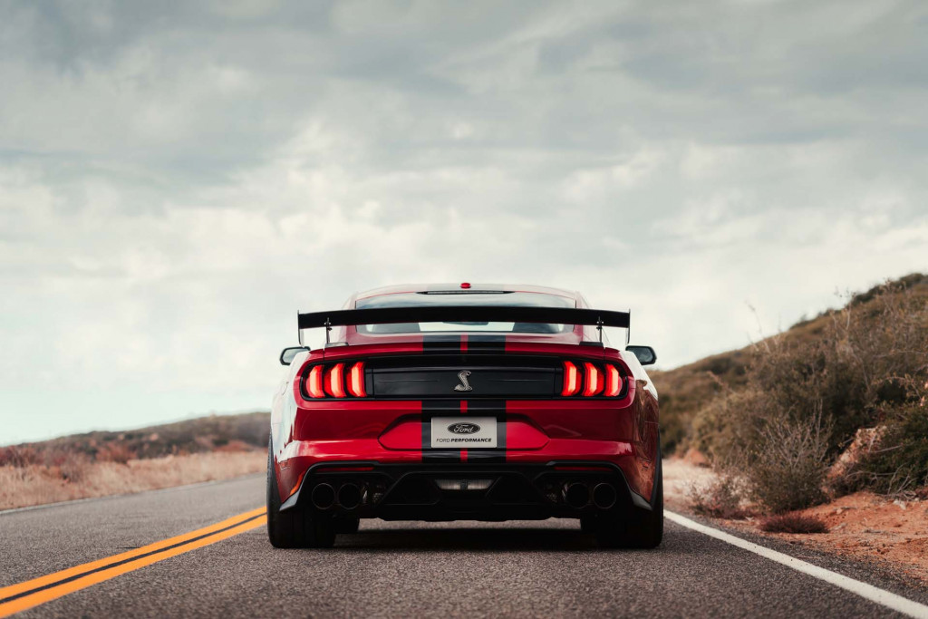 2020 Ford Mustang Shelby Gt500 Limited To 180 Mph Slower Than
