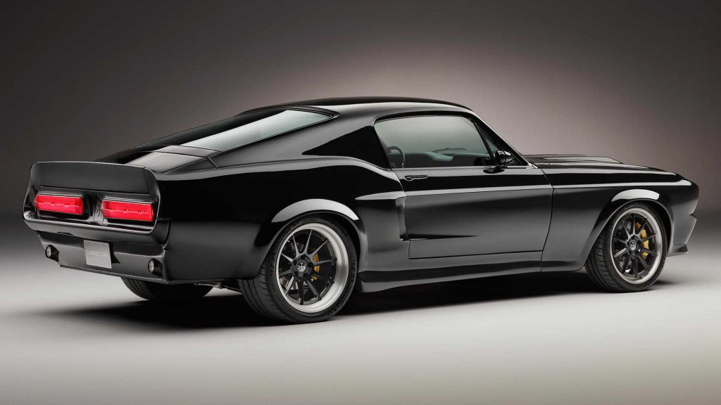 Charge Cars 1967 electric Ford Mustang