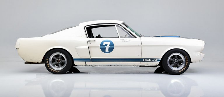 Racing legend Stirling Moss's 1966 Ford Mustang Shelby GT350 heads to auction