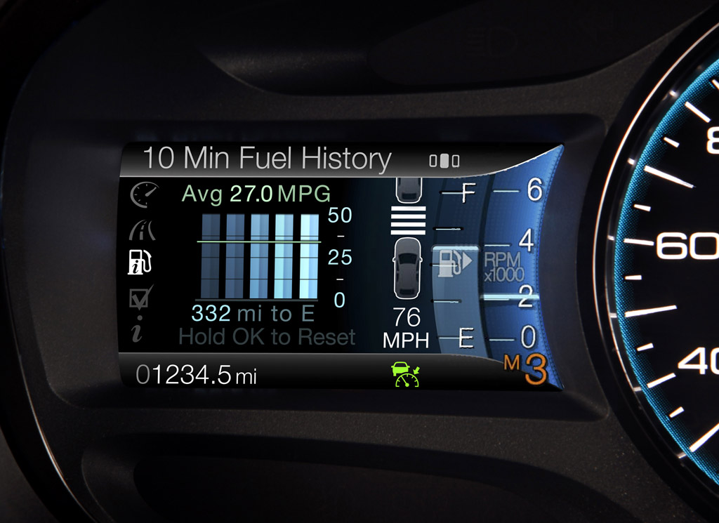 Ford MyTouch with Eco-Route