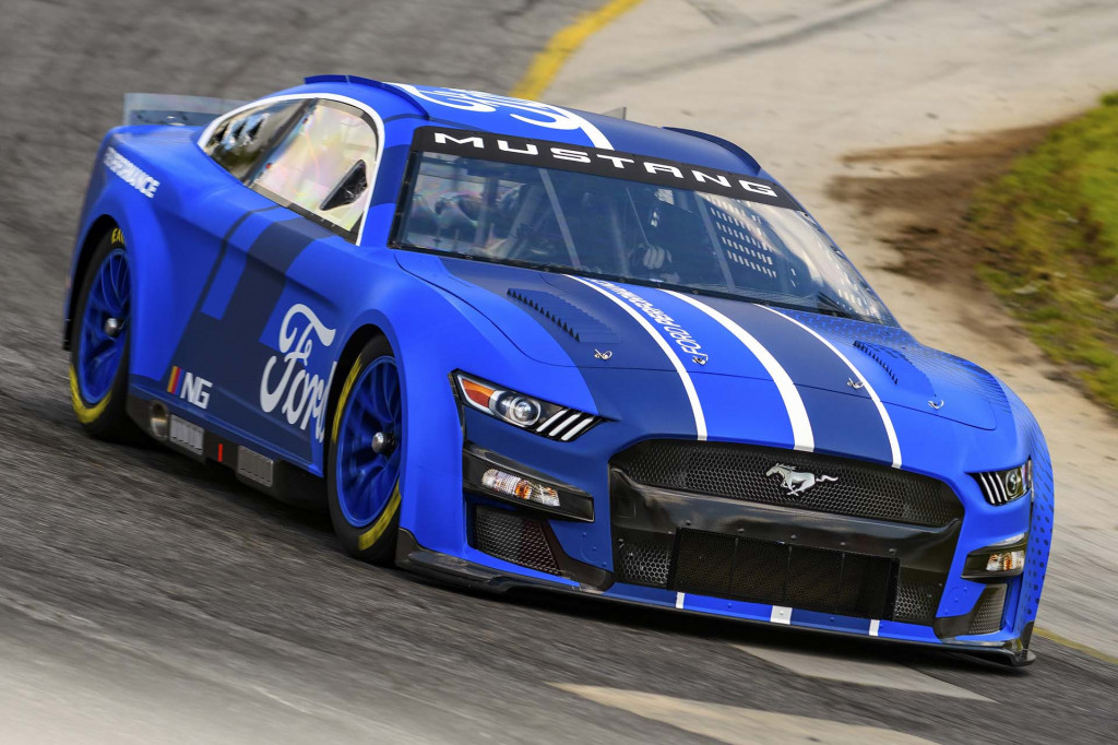 Ford NASCAR Next Gen Mustang race car