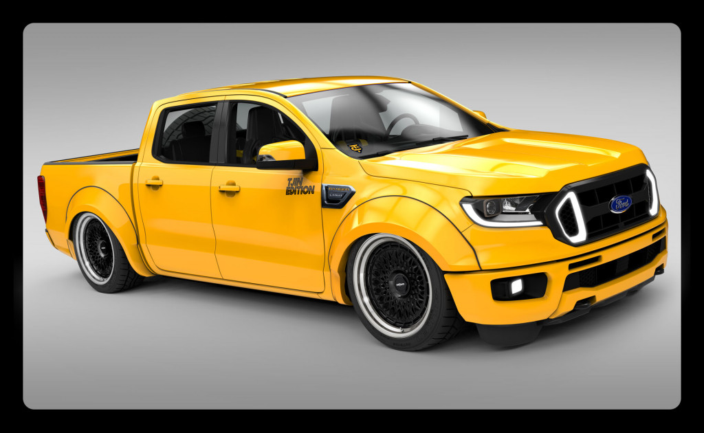 Ford reveals Ranger, Transit projects for SEMA