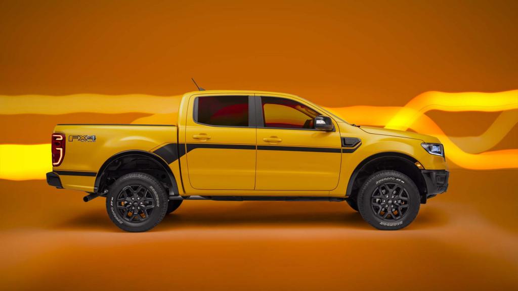 2022 Ford Ranger Splash Pacakge