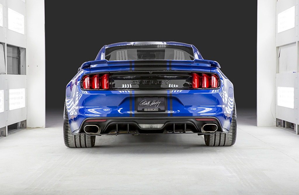 Ford F150 Shelby 2017 >> Shelby rolls out wide-body Mustang concept