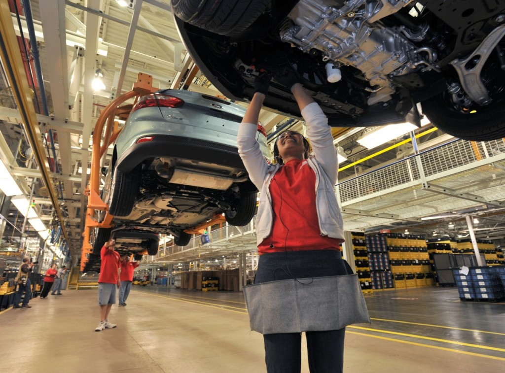 Could Healthier Auto Workers Cut The Cost Of Your Next Ford?