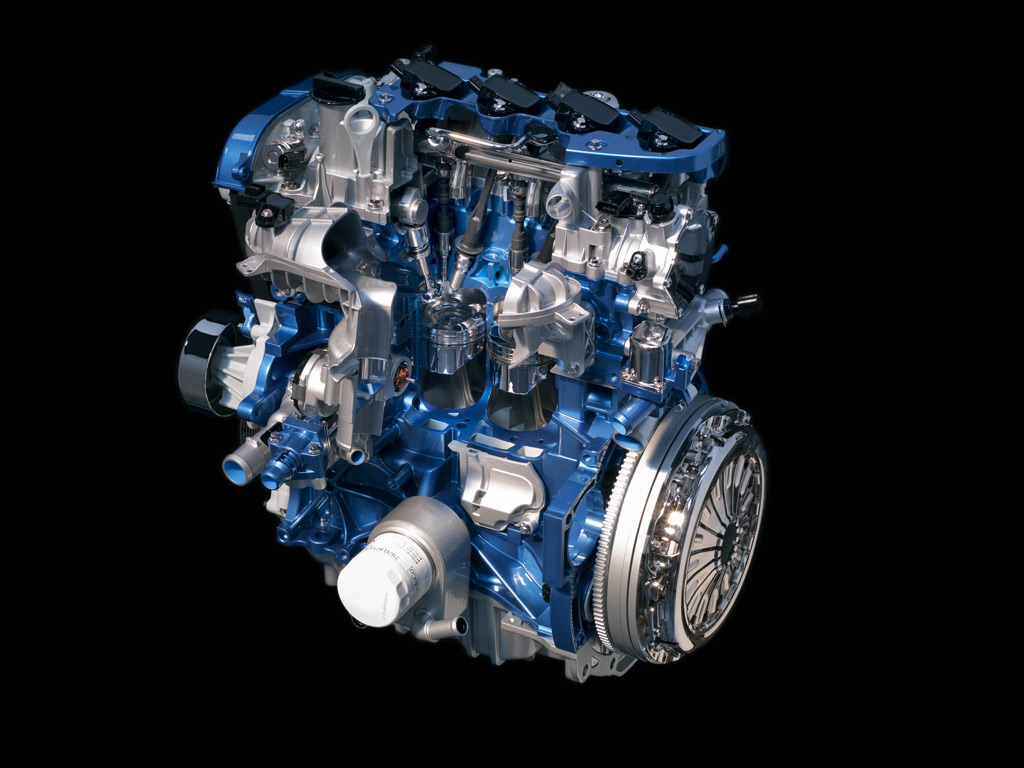 Ford Unveils Four-Cylinder EcoBoost Family