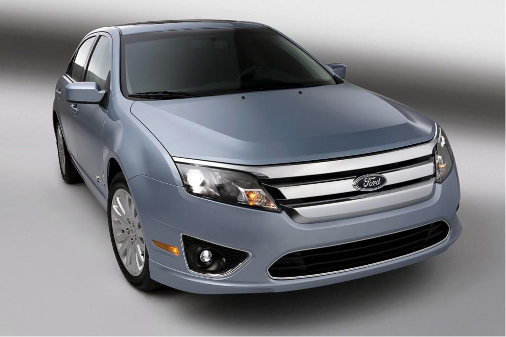 2010 Ford Fusion Hybrid High Mileage Achiever Everyman S Interior