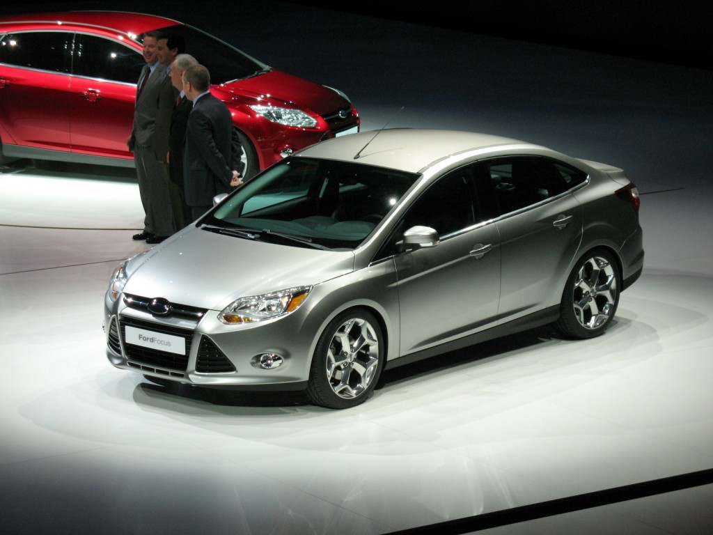 2012 Ford Focus, at 2010 Detroit Auto Show