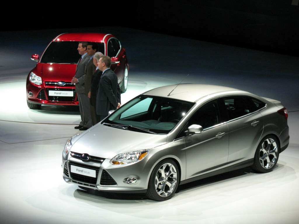 Ford Showing 'One Ford' Determination With 2012 Ford Focus