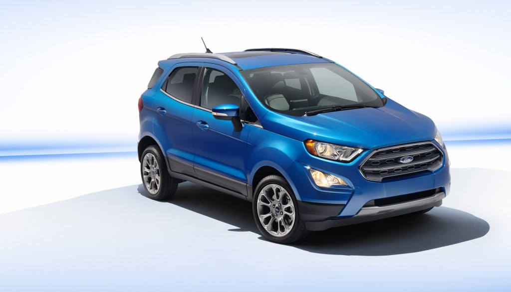 Cars Out At Ford Small Crossovers And Suvs Left To Take Up Efficiency Banner