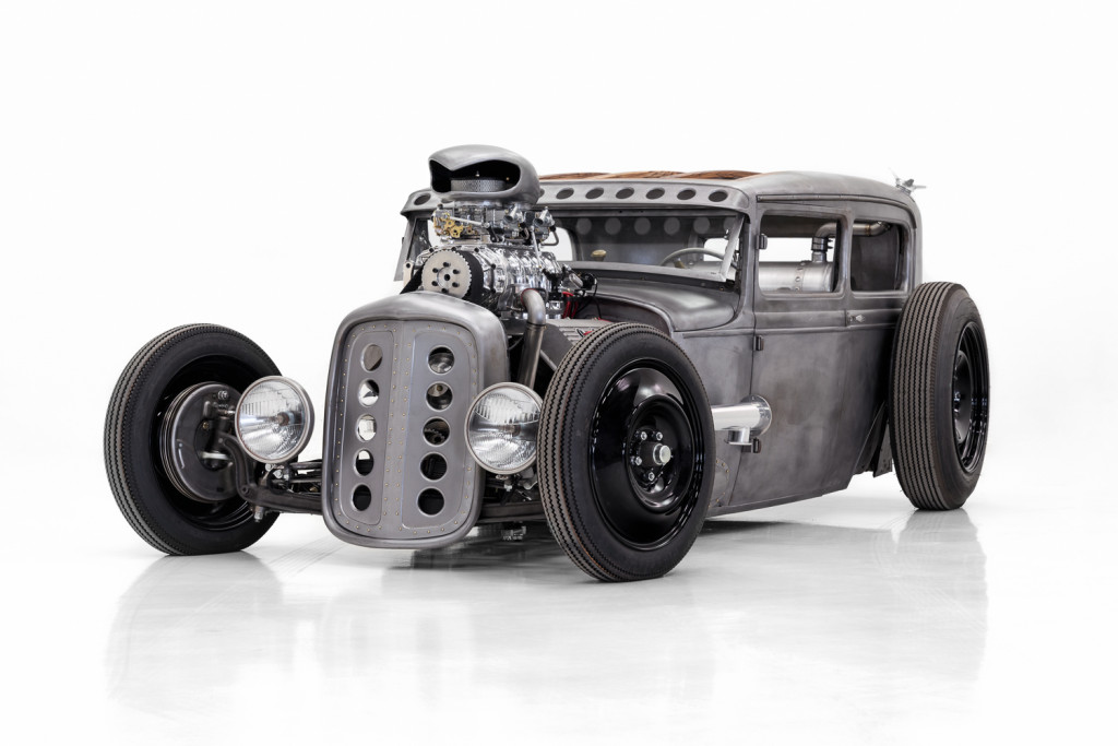 1931 Ford Model A Sedan hot rod seethes with style