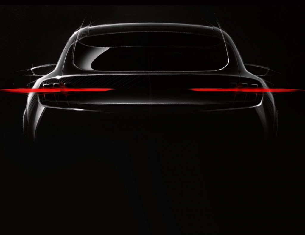 Concept for Ford's Mustang-inspired electric SUV reportedly coming this year